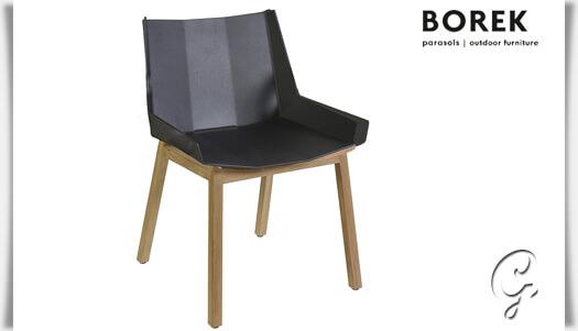moderner gartenstuhl chios aus holz alu. Black Bedroom Furniture Sets. Home Design Ideas