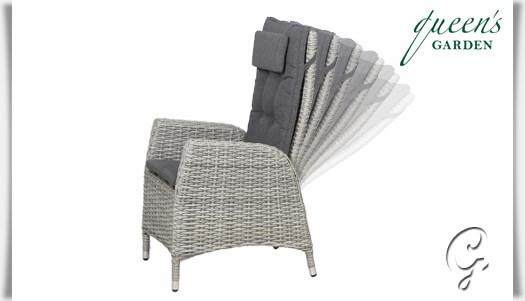 garten lounge sessel comodo in grau. Black Bedroom Furniture Sets. Home Design Ideas