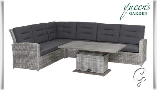 Rattan gartenmöbel sofa  Gartenmöbel-Set »Comodo« Garten Lounge • Gartentraum.de