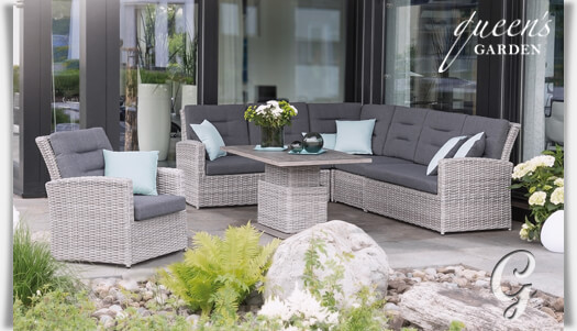 gartenm bel set comodo garten lounge. Black Bedroom Furniture Sets. Home Design Ideas