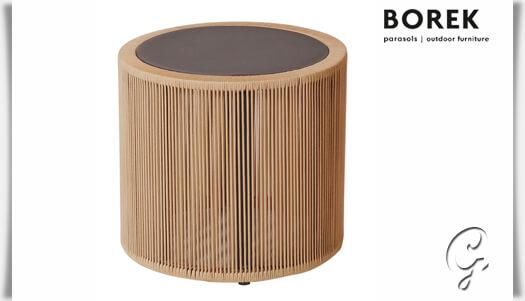 design garten beistelltisch cosenza rund. Black Bedroom Furniture Sets. Home Design Ideas