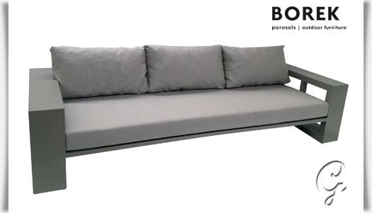modernes gartensofa everglades grau. Black Bedroom Furniture Sets. Home Design Ideas
