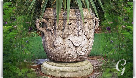 Exklusive Pflanzkübel antik pflanzkübel riesig welford park gartentraum de
