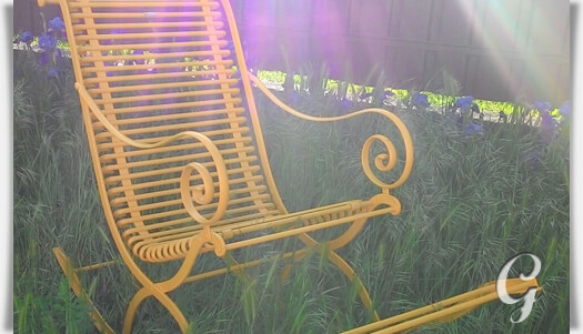 schaukelstuhl edgar f r den garten. Black Bedroom Furniture Sets. Home Design Ideas