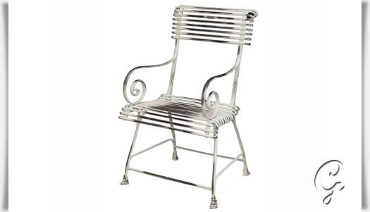 antiker gartenstuhl caline. Black Bedroom Furniture Sets. Home Design Ideas