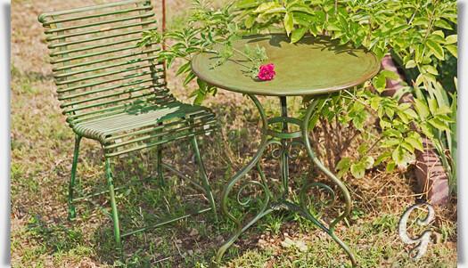 Sitzgruppe thierry aus schmiedeeisen - Gartenmobel schmiedeeisen gebraucht ...