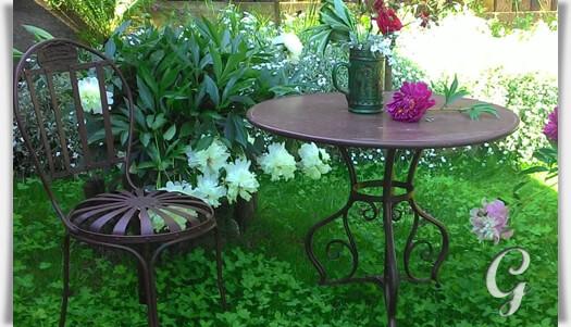 bistro garten tisch noelie rund. Black Bedroom Furniture Sets. Home Design Ideas