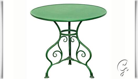Bistro Garten Tisch Noelie Rund Gartentraum De