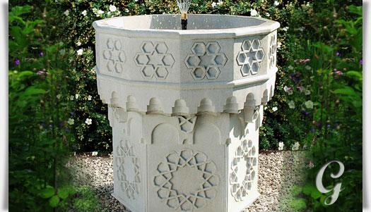 Stein gartenbrunnen mit pumpe andalucia - Gartenbrunnen set stein ...