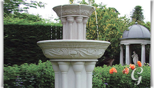Gartenbrunnen Aus Stein