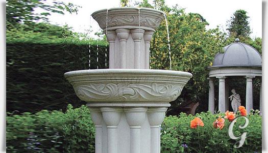 Antik garten standbrunnen   dorney court • gartentraum.de