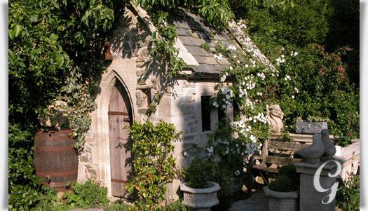 deko gartenhaus aus steinguss sidebury garden gartentraum de