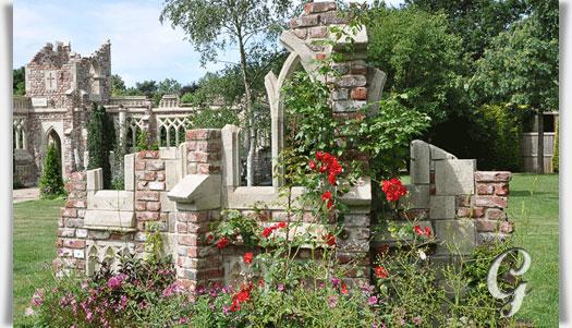 Deko ruine f r den garten steynton castle for Gartengestaltung romantisch