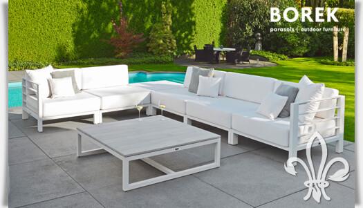 gartenlounge set horizon aus aluminium. Black Bedroom Furniture Sets. Home Design Ideas