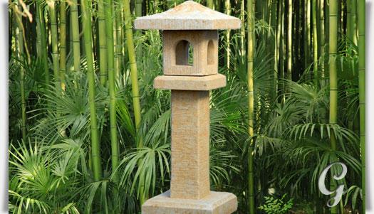 asiatische garten stein laterne kanji. Black Bedroom Furniture Sets. Home Design Ideas