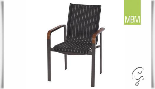 gartensessel kennedy stapelbar von mbm. Black Bedroom Furniture Sets. Home Design Ideas