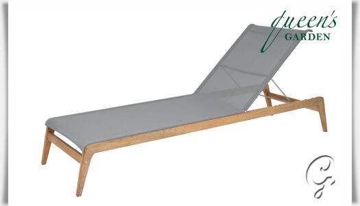 Sonnenliege holz  Garten Lounge-Liege »Kent« aus Teak-Holz • Gartentraum.de