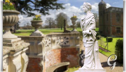 Gro e garten statue lebensgro la poesia for Gartenfiguren stein