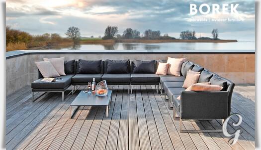 garten loungemodul libero aus edelstahl. Black Bedroom Furniture Sets. Home Design Ideas