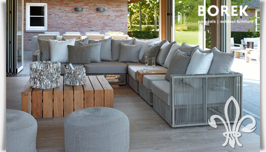 outdoor loungem bel set lincoln von borek. Black Bedroom Furniture Sets. Home Design Ideas