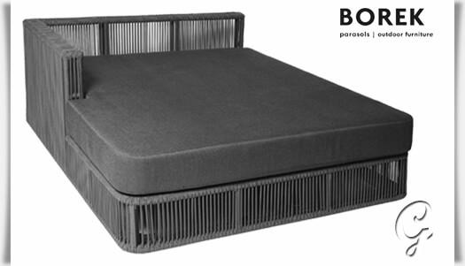 chaiselongue lincoln von borek inkl kissen. Black Bedroom Furniture Sets. Home Design Ideas