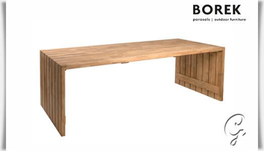 Borek Gartentisch Miami Beach Teak Holz Gartentraum De