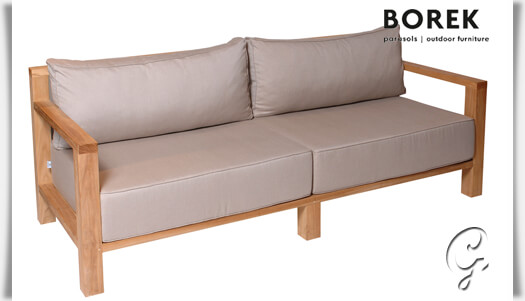 design gartensofa miami beach teak holz. Black Bedroom Furniture Sets. Home Design Ideas