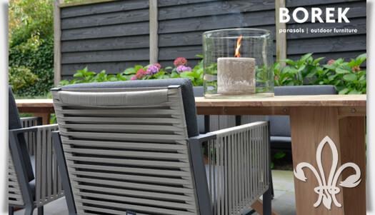Gartenmöbel Set Modern Alu Gartenstühle U0026 Holztisch Borek Shop