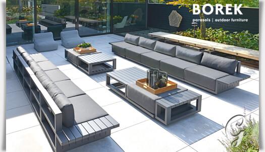 Gartensofa Lounge Element Alu Grau Online Kaufen