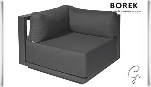 garten ecksofa von borek murcia grau. Black Bedroom Furniture Sets. Home Design Ideas
