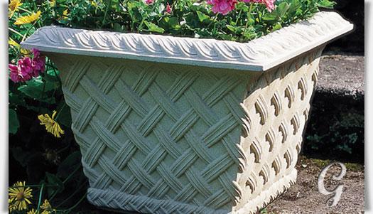 deko gartengef aus steinguss potton manor. Black Bedroom Furniture Sets. Home Design Ideas