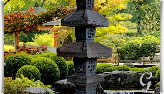 Japanische stein laterne mitaka - Gartendeko chinesisch ...