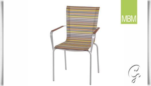 Gartenstühle stapelbar bunt  Garten-Sessel stapelbar »Papillon« von MBM • Gartentraum.de