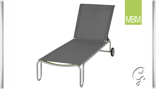 garten liegestuhl papillon aus metall mbm. Black Bedroom Furniture Sets. Home Design Ideas