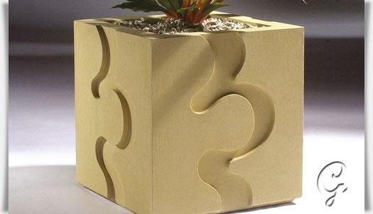 garten pflanztopf modern wave. Black Bedroom Furniture Sets. Home Design Ideas