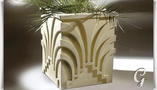 gro er pflanzk bel modern torquatus. Black Bedroom Furniture Sets. Home Design Ideas