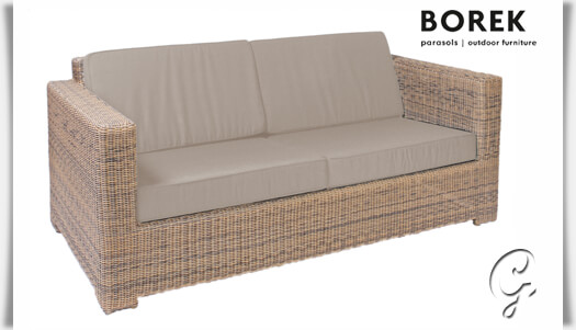 design gartensofa plaza mit kissen borek. Black Bedroom Furniture Sets. Home Design Ideas