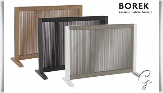 Raumteiler Ponza Aluminium Weiss Grau Gartentraum De