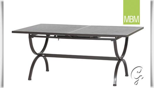 Fabulous Tisch ausziehbar für Terrasse & Garten MBM • Gartentraum.de OV89
