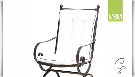 Auflage für Garten Sessel »Romeo« von MBM • Gartentraum.de