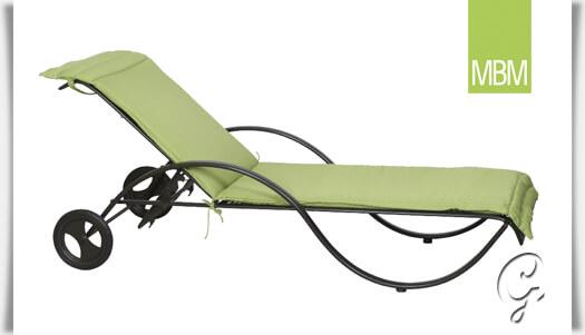 garten auflage f r sonnenliege romeo. Black Bedroom Furniture Sets. Home Design Ideas