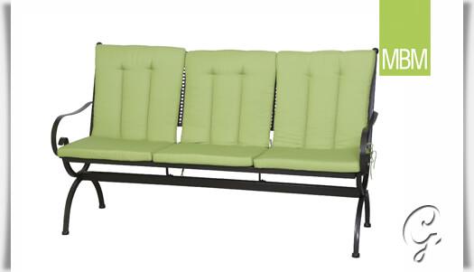 kissen auflage f r sitzbank romeo gr n. Black Bedroom Furniture Sets. Home Design Ideas