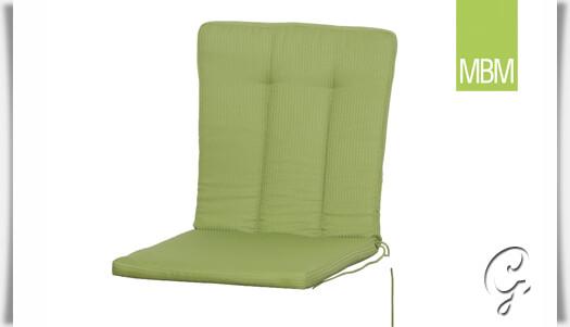 sitzkissen romeo f r gartenst hle gr n. Black Bedroom Furniture Sets. Home Design Ideas