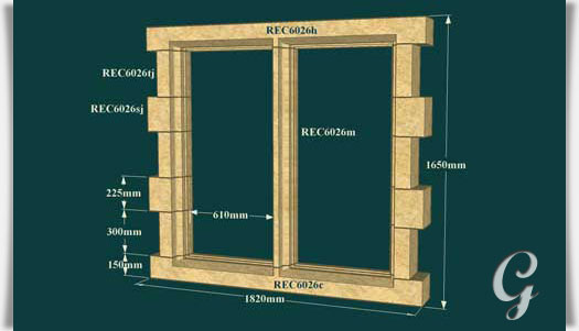 Mauer ruinen fensterleibung toft hall - Fenster zumauern welcher stein ...