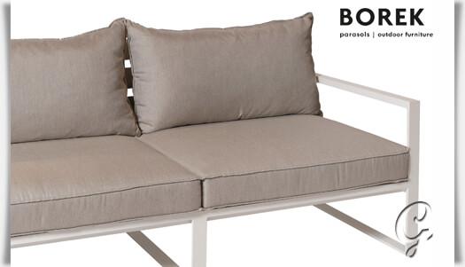 Borek Garten Sofa Outdoor Terrasse Aluminium Mit Auflage