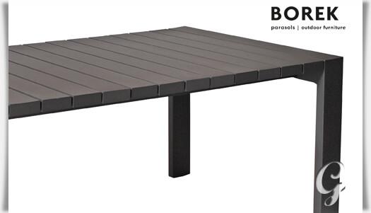 Fantastisch Elegant Garten Tisch Terrasse Alu Anthrazit Gro X Kaufen With Holztisch  Terrasse