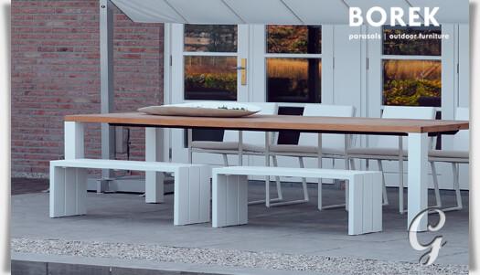 Garten Sitzbank ohne Lehne »Samos« • Gartentraum.de