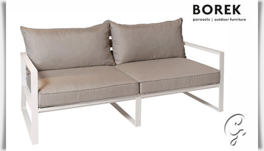 Garten Lounge Sofa Samos Mit Kissen Gartentraumde