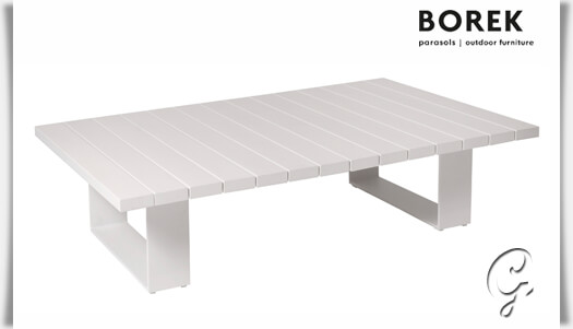 Borek design garten beistelltisch samos for Design couchtisch flach