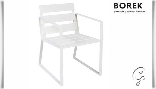 aluminium design gartenstuhl samos. Black Bedroom Furniture Sets. Home Design Ideas